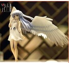 sexy nude japanese anime pvc Angel beats Tachibana Kanade  action figure statue toy undress Adult Toys 19cm Workmanship