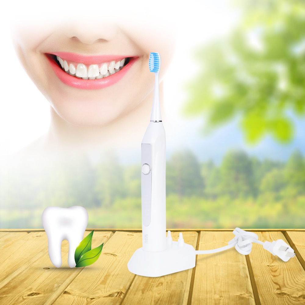 Kemei KM - 913 Electric Ultrasonic Toothbrush Washable Inductive Charging Automatic Oral Toothbrushes For All With 3 Brush Heads lacywear km 34 all