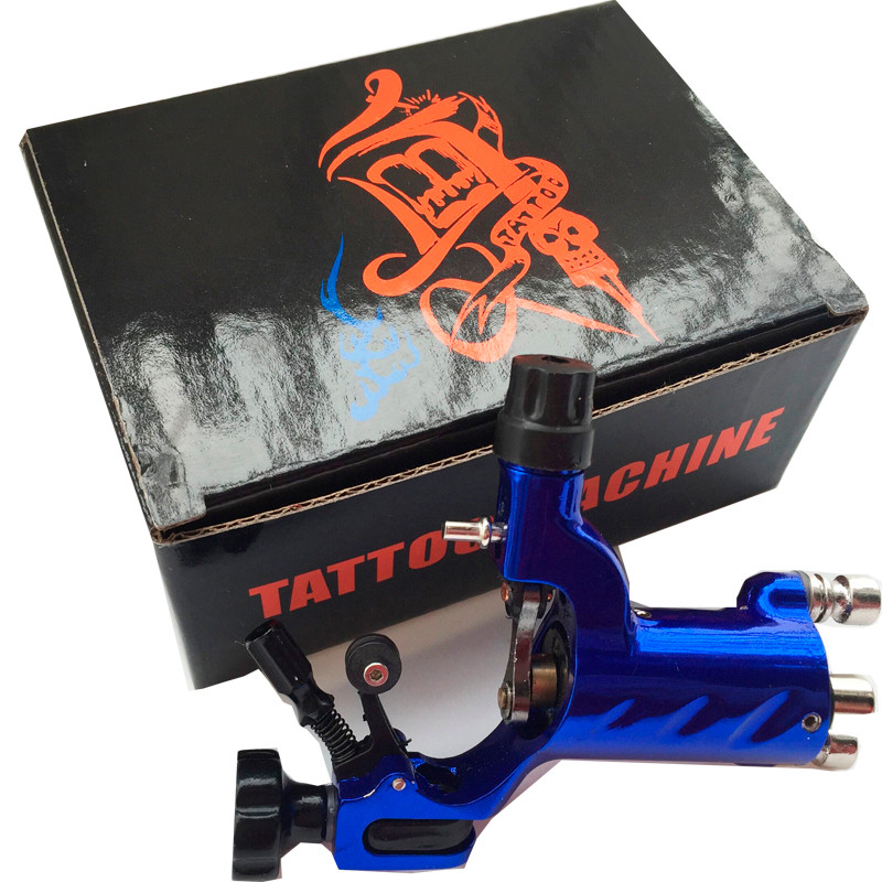 Blue-New-dragonfly-Tattoo-Rotary-Motor-Machine-Guns-Free-shipping