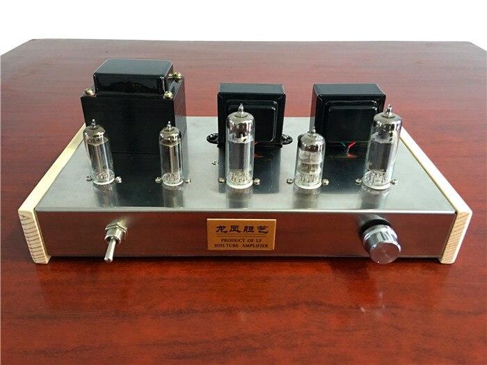 NOUVEAU BRICOLAGE 6N2 Push 6P1 Double 6Z4 Tube Amplificateur Kit Tube Redresseur Amplificateur Kit