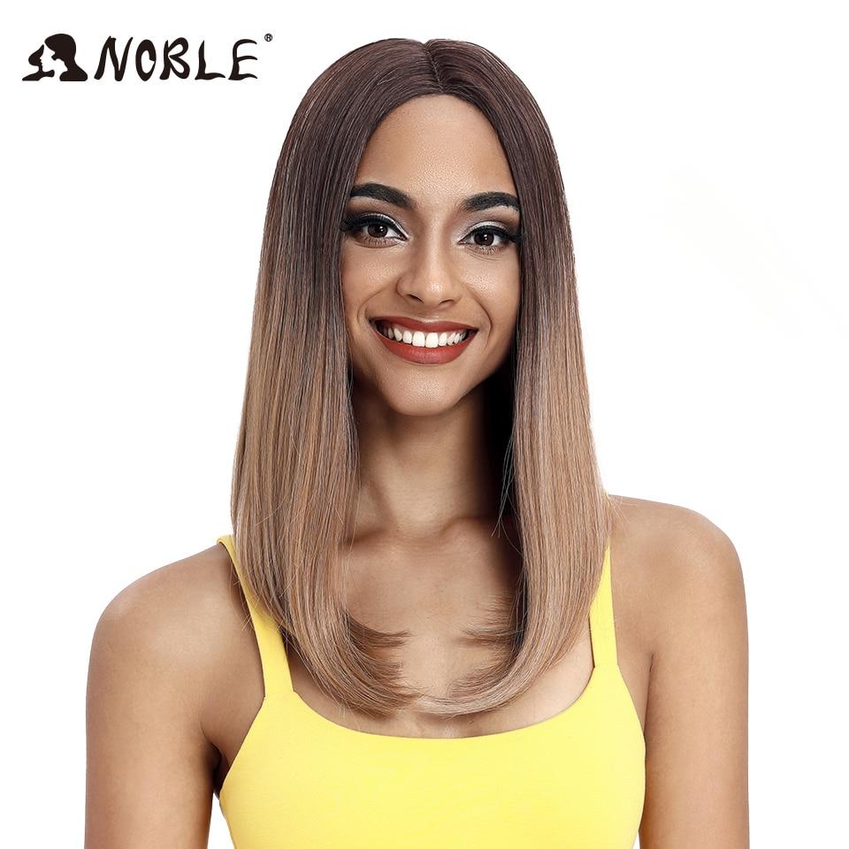 Asil sentetik dantel ön peruk 8 inç uzun düz sentetik peruk Cosplay 14 inç peruk siyah kadınlar için dantel ön isıya dayanıklı
