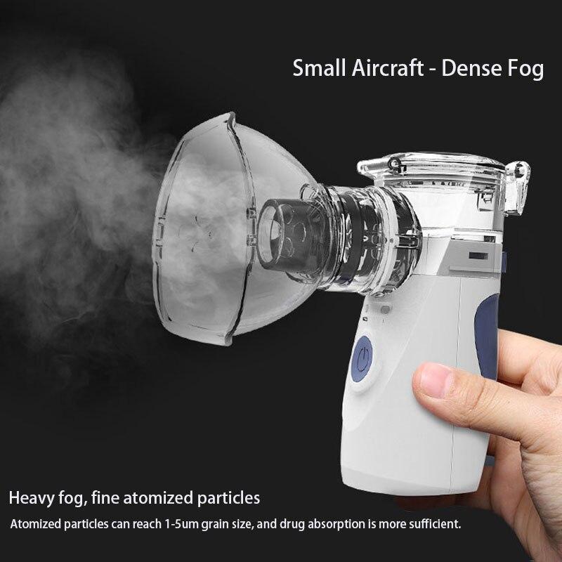 Nébuliseur Portable enfants inhalateur Machine atomiseur nébuliseur à ultrasons Mini poche inhalateur respirateur humidificateur Kit santé