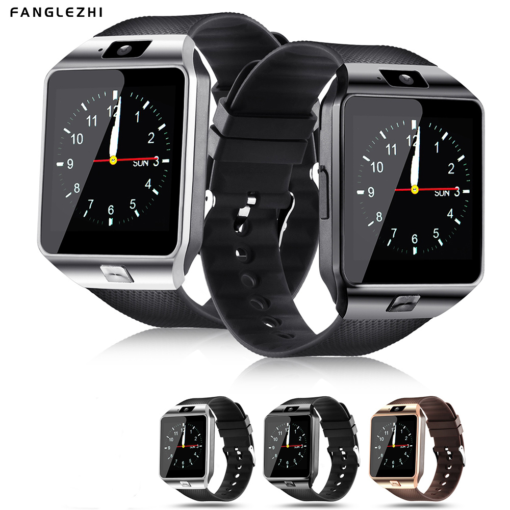 Smart Watch Bluetooth Smartwatch DZ09 Men Waterproof Square SIM TF Card Camera for Android iPhone A1