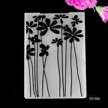 2017 New Arrival Scrapbook Flowers design DIY Paper cutting dies SCRAPBOOKING PLASTIC EMBOSSING FOLDER EF01
