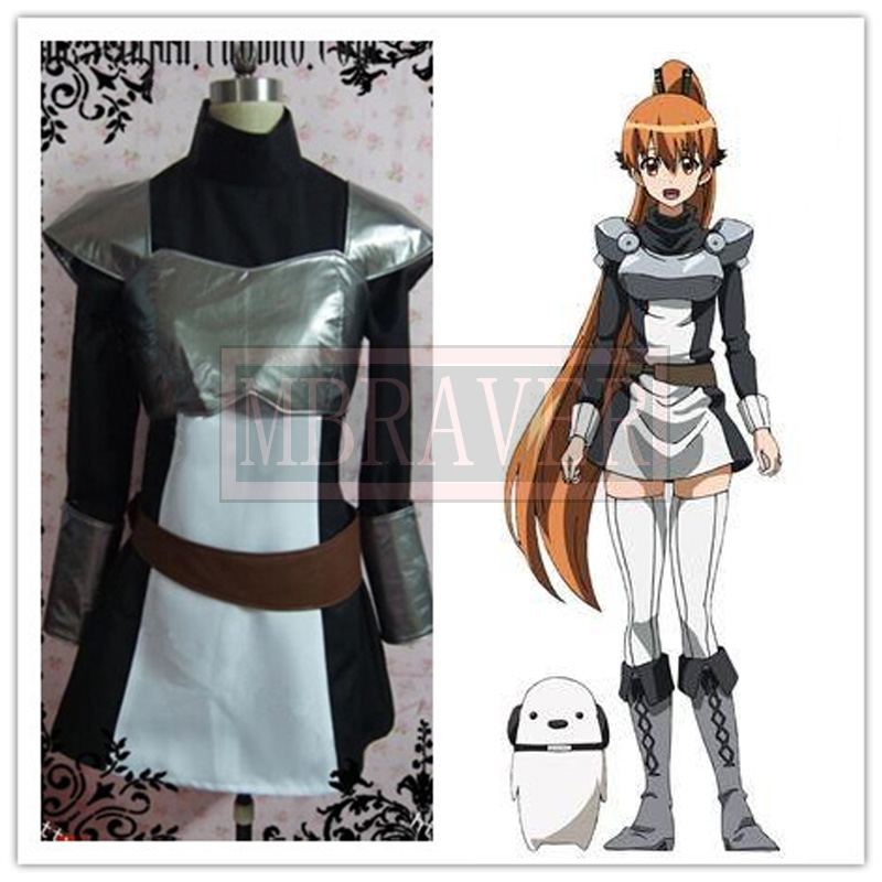 Akame ga Kill! Seryu Ubiquitous fighting clothes Cosplay Costume Any Size