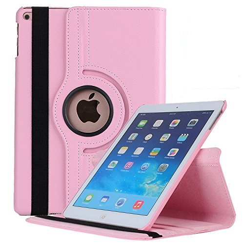 For Ipad Pro 10.5 Inch Case, 360 Rotating Smart Stand Case Cover With Auto Sleep Wake Multi-Angle Viewing