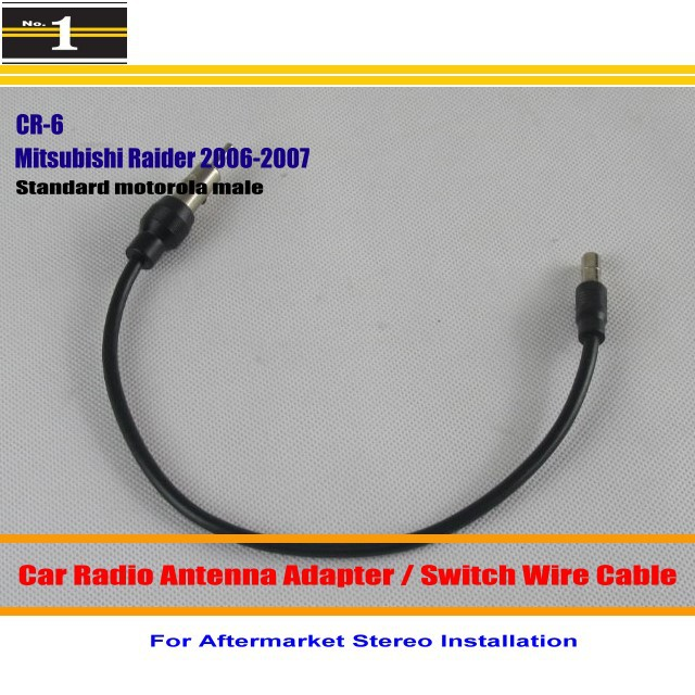 mitsubishi radio wiring promotion shop for promotional mitsubishi car radio antenna adapter aftermarket stereo antenna wire standard motorola male for mitsubishi raider 2006 2007