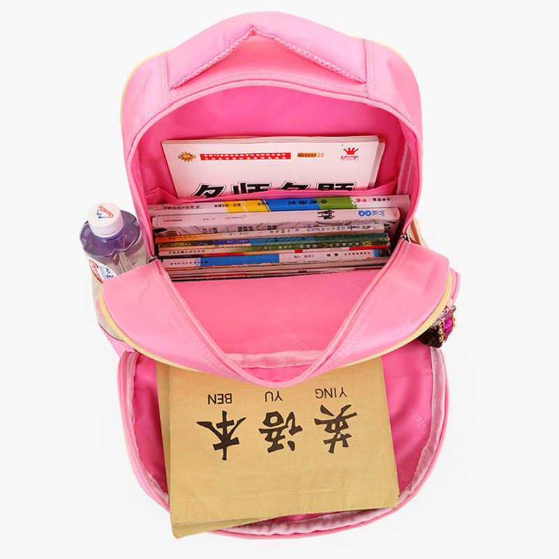 Детские школьные сумки с рисунком, Детские рюкзаки, водонепроницаемый нейлоновый ортопедический школьный портфель для девочек, рюкзак для книг, Mochilas