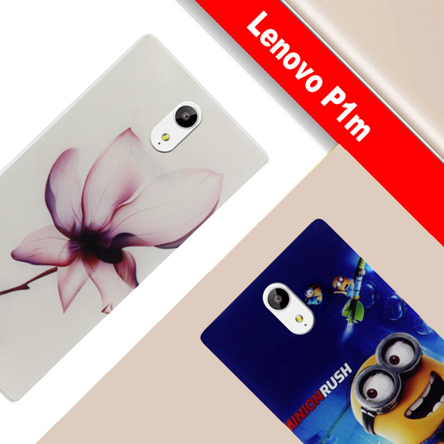 Lenovo Vibe P1m Case TPU Painting Pattern vibe Lenovo P1ma40 Case TPU Soft Phone Cover For Lenovo vibe p1ma40 case Cover Funda