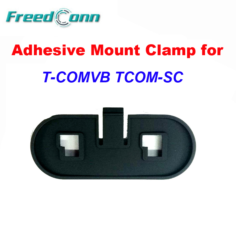 Adhesive Mount Base Holder Headset Clamp Clip For FreedConn TCOM-SC T-COMVB Motorcycle Bluetooth Helmet Headset BT Interphone