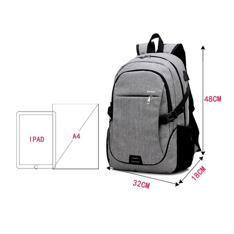 15.6 Inch Brand School Backpack 32x18x48CM 14