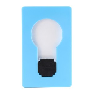 Wallet Light Novelty Lighting Portable Mini LED Card Pocket Light Bulb Lamp Credit Card Size Home Accessories