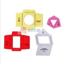 1 комплект деревянный конверт шаблон ручной трафарет может сделать 4 разных размера модели envenlops,(ss-5930