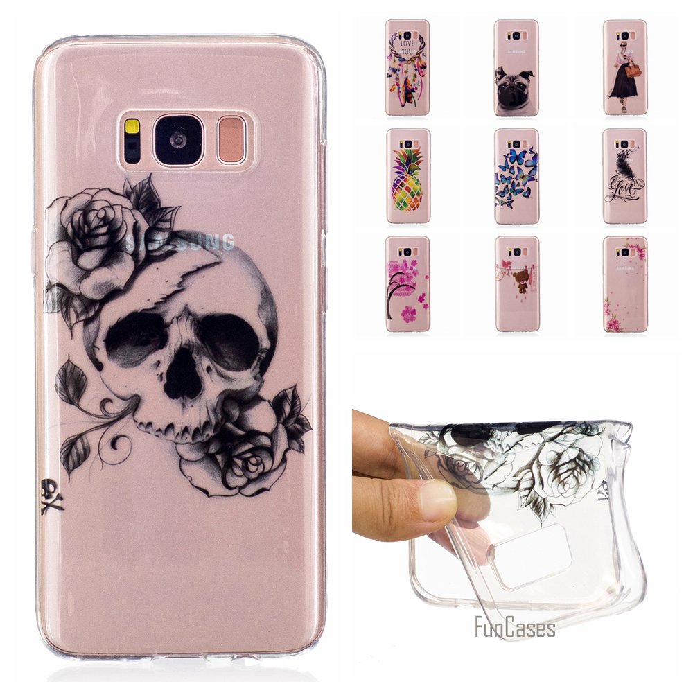 Coque Soft Gel TPU Transparent Case Wind chimes For Samsung Galaxy A3 2016 A5 2017 J5 Prime J7 Skeleton Case For Samsung S8 Plus