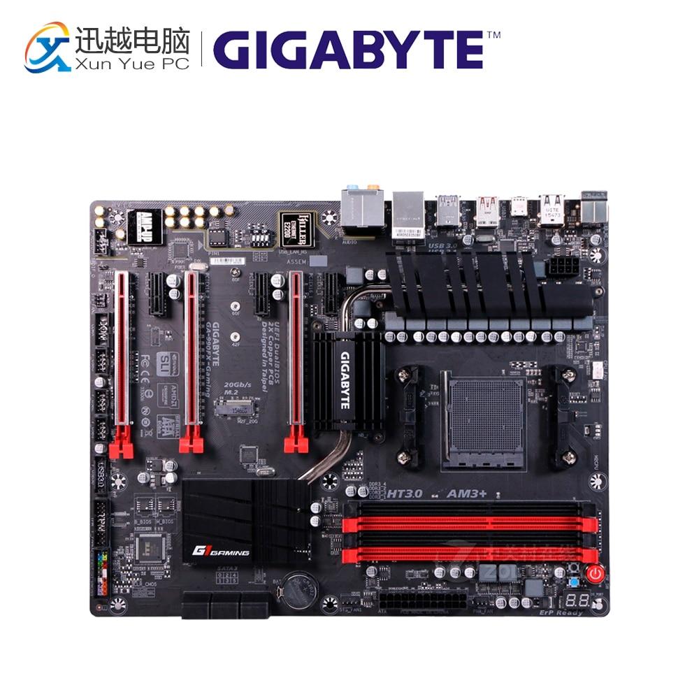 Gigabyte GA-990FX-Gaming Desktop Motherboard 990FX Socket AM3+ DDR3 SATA3 USB3.0 ATX все цены