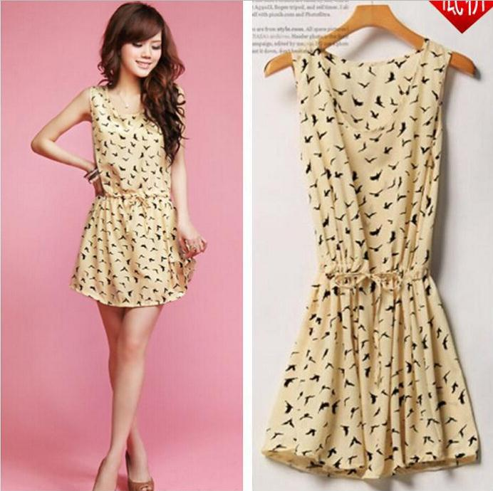 6701e72745e Summer Dress 2015 Tunics Women Cute Cheap Sundress Sexy Mini Kawaii Dress  Women's Tunic Dresses Casual Print Vestidos Femininos-in Dresses from  Women's ...