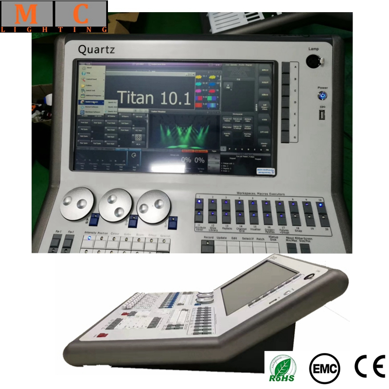 Cuarzo DMX consola de v11 dmx controlador con flycase