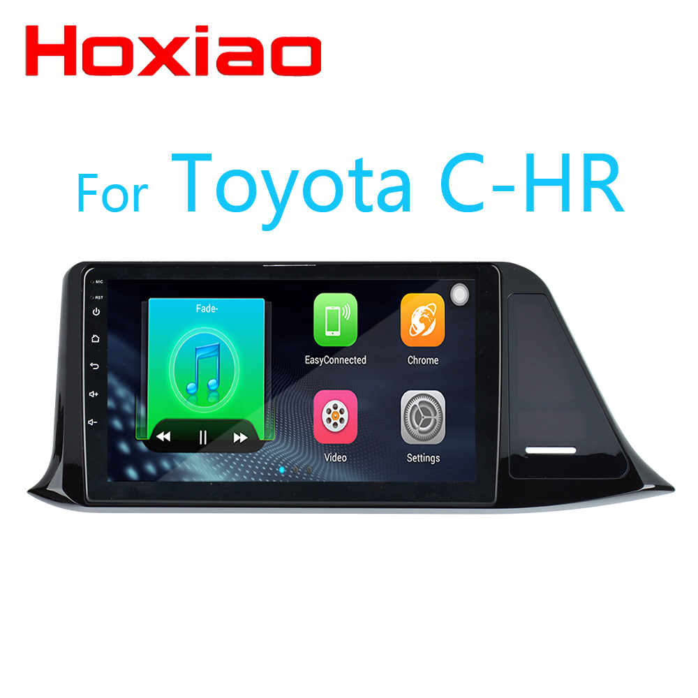 Android Car Radio for Toyota C-HR CHR C HR 2016 2017 2018 9inch 1024*600 Quad Core wifi Bluetooth video audio Multimedia 2 din