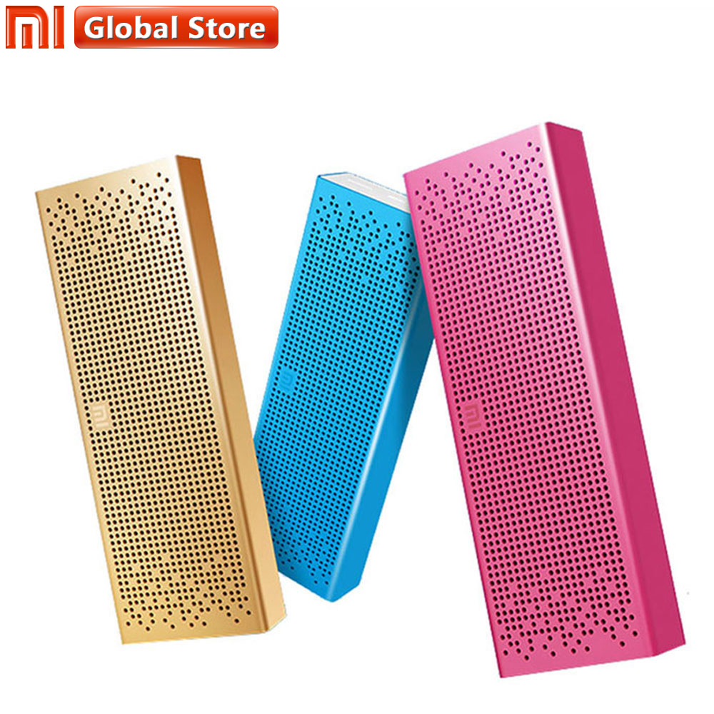 New Original Xiaomi Mi Bluetooth Speaker Wireless Stereo Mini Portable MP3 Player Pocket Audio AUX-in Support Hands-free Speaker newest original xiaomi bluetooth speaker wireless stereo mini portable mp3 player for iphone samsung handsfree support tf aux