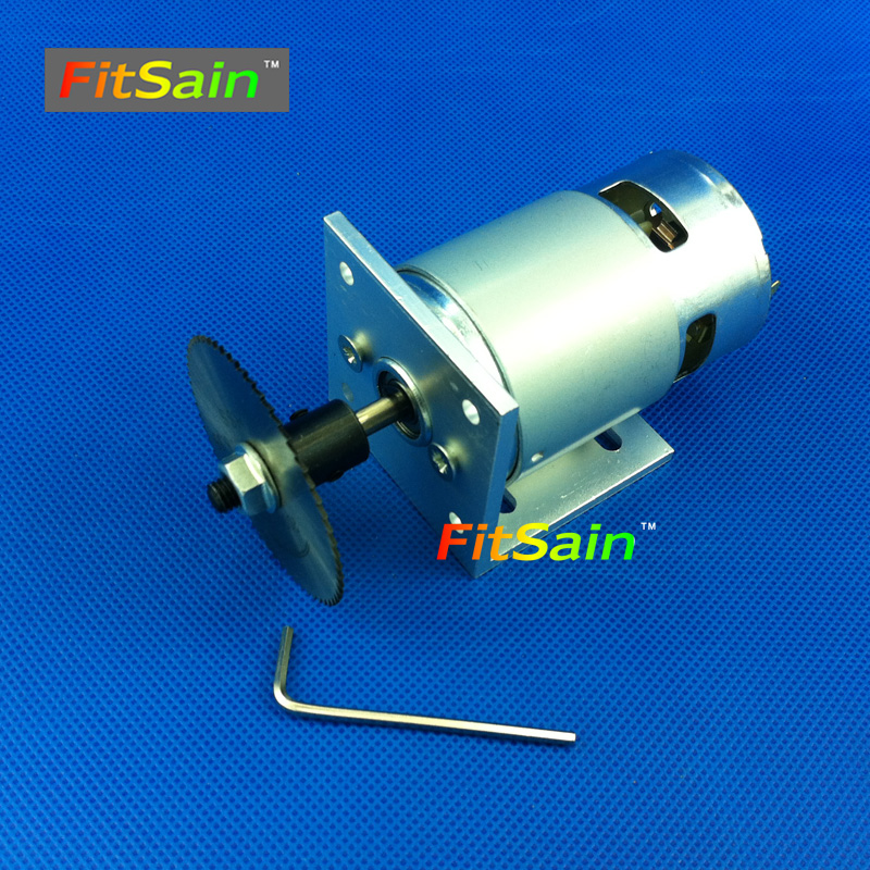 FitSain-Ball bearing 775 DC24V 8000RPM circular saw blade for wood cutting disc mini table electric saw sawing machines diy