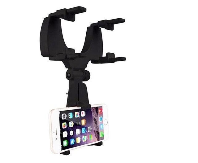 Регулируемый Поворотный GPS Мобильного Телефона Авто Зеркало Заднего Вида Крепления держатели Стенды Для Motorola Moto M, Doogee Turbo 2 DG900 T5S,