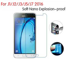 3x New Nano Explosion-proof Screen Protector Guard Foil Cover Film For Samsung Galaxy J1 J2 J3 J5 J7 2016 Not Tempered Glass