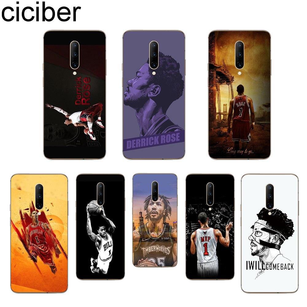 ciciber Derrick Rose Phone Cases For font b Oneplus b font font b 7 b font