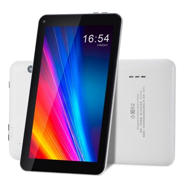 Новое Прибытие 7 дюймов Aoson M751 Tablet PC 1024*600 Android 5.1 8 ГБ ROM 1 ГБ RAM Quad Core Dual Фотоаппараты Bluetooth Нескольких языках