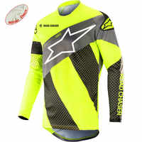 2019 hiver thermique polaire Motocross Maillot Vtt Maillot Vtt Camiseta vélo descente Maillot vélo Maillot Vtt descente chemise