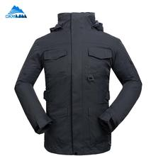 High Quality Winter Hiking Snowboard Ski Jacket Men Skiing Trekking Camping Waterproof Windbreaker Outdoor Sports Leisure Coat