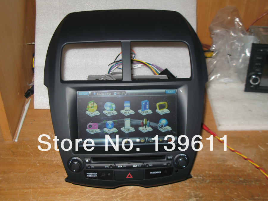 ZESTECH Mitsubishi ASX Car DVD Player with Touch Screen GPS Bluetooth Phonebook ipod font b iphone