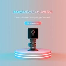 S8 מיני אבטחת בית IP מצלמה Wi Fi אלחוטי רשת Wifi ראיית לילה תינוק צג עבודה 8 שעות מצלמה