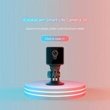 S8 Mini Home Security IP Camera Wifi Draadloze Netwerk Camera Surveillance Wifi Nachtzicht Babyfoon werken 8 uur Camera