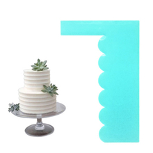 Cream Spatula Mousse Scraper Pastry-Mold Decorating-Tools Cake Fondant Baking 1 1PC Edge