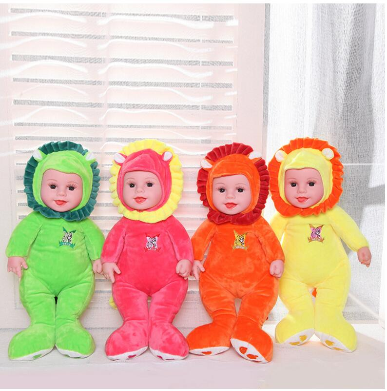 16 inch Stuffed Baby Born Doll Toys For Children Silicone Reborn Alive Babies Lifelike Kids Toys Sleep Reborn Doll For Kid Toy 13 inch baby toys for girls kids toys stuffed