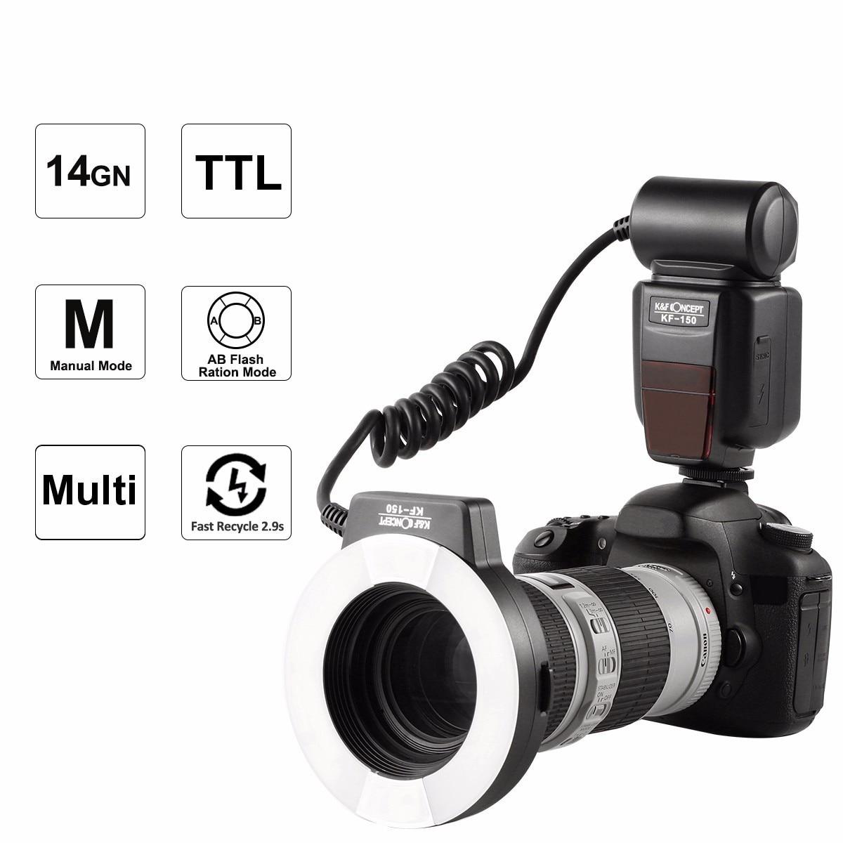 Nieuwste K & F CONCEPT KF-150 Flash Speedlite Master Slave TTL - Camera en foto - Foto 2