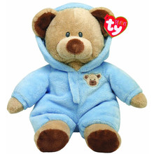 "Pyoopeo Ty Pluffies Baby Bear Blue 11"" 27cm Plush Medium Soft Stuffed Animal Collection Teddy Doll Toy(China)"