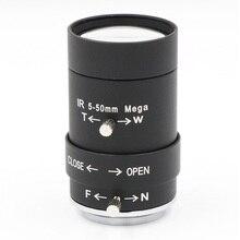 Macchina Fotografica del CCTV 5 50mm Lens 2.0 MegaPixel Zoom Manuale/Messa A Fuoco/IRIS Cs Visione Notturna A Raggi Infrarossi obiettivo Per Telecamera A CIRCUITO CHIUSO