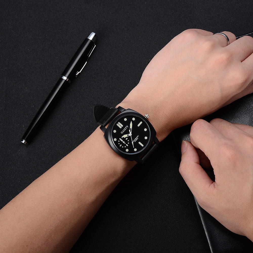 2017 New Fashion Brand Leather Strap New Simple Design Quartz Watches Super Slim Quartz Wristwatch Horloge Dames new chaos abstract design simple watches for young people rebirth fashion brand quartz watch with comfortable leather strap