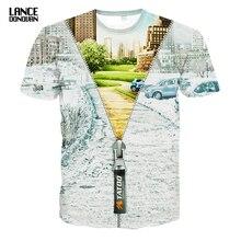 Hight Qualidade T shirt Dos Homens 3D Moda Verão 2016 Curto mangas de Ambos Os Lados de Impressão muitos modelos Man TOP TEES O pescoço(China (Mainland))