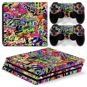 Съемный чехол для PS4 Pro консоли и контроллеров, защитные наклейки для Sony Playstation 4 Pro, аксессуары для игр