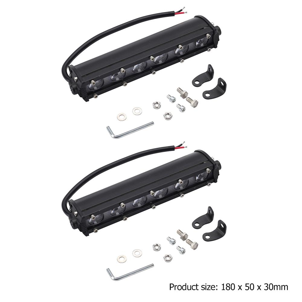8 Inch 60W LED Super Strong Light Bar Offroad Fog Lamp IP67 Waterproof Levels Led Suv Off Road Driving WorkLight Car Accessories