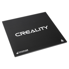 Новейший Creality 3d принтер Ender-3 черный карбоновый силиконовый, прозрачный стеклянная платформа сборка Hotbed стеклянная платформа для Ender-3 235*235 мм