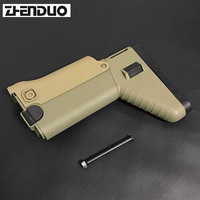 ZhenDuo Toy Gel Ball Blaster SCAR After Buttstock Water Pistol Modified Accessories Outddor Hobbies