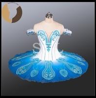 2016 Peacock Costumes Blue Bird Tutus Adult Classical Ballet Tutus Child Tutu Skirt Girls Professional Ballet