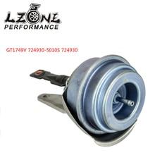 LZONE-турбонагнетатель пускового механизма GT1749V 724930-5010S 724930 для AUDI VW Seat Skoda 2,0 TDI 140HP 103KW JR-TWA01