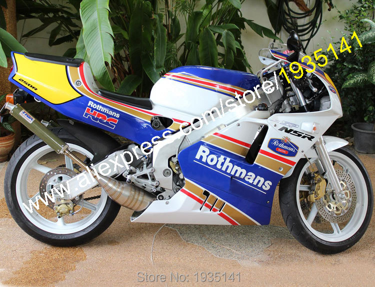 Горячие продаж,для Honda NSR250R MC28 94 95 96 СМП 250р 1994 1995 1996 Ротманс послепродажного мотоциклов Обтекателя (литья под давлением)