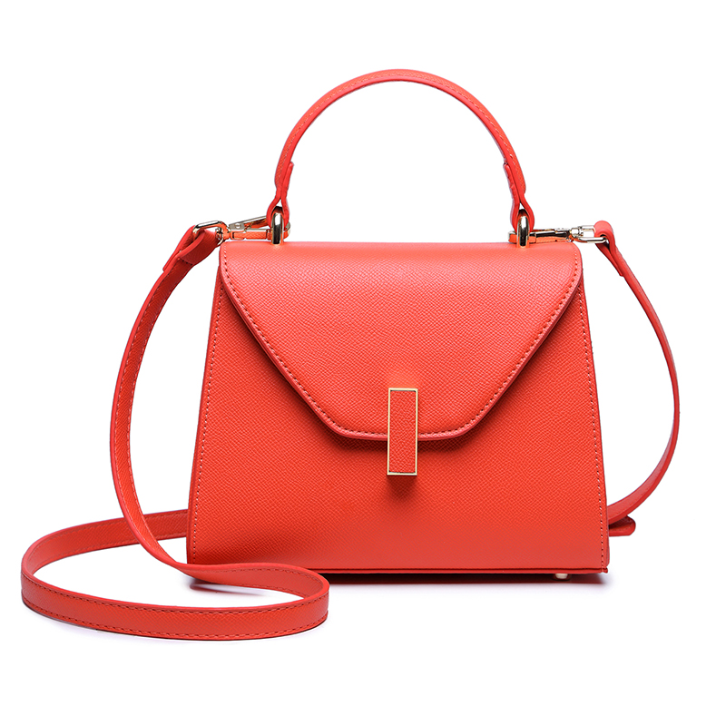 Our ReALIty 1 Epsom Women First Layer Genuine Leather Famous Brand Square Lock Office Lady Crossbody Bag Large Tote EGT0103 augmented reality navigation