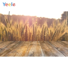 лучшая цена Yeele Farm Wheat Wooden Board Baby Pets Portrait Photography Backgrounds Customized Photographic Backdrops For Photo Studio