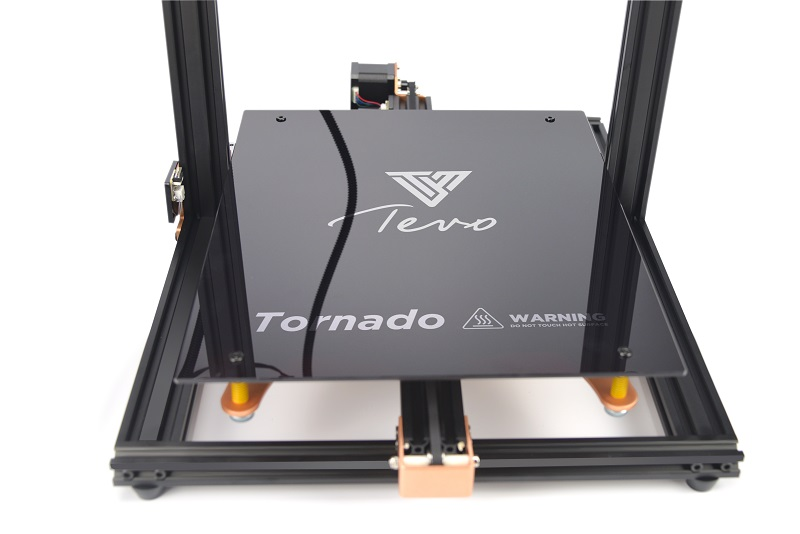 TEVO Tornado 3D Printer Hot bed Silicon Heated Bed 300*300mm 110V-220V with Black Glass build surfac